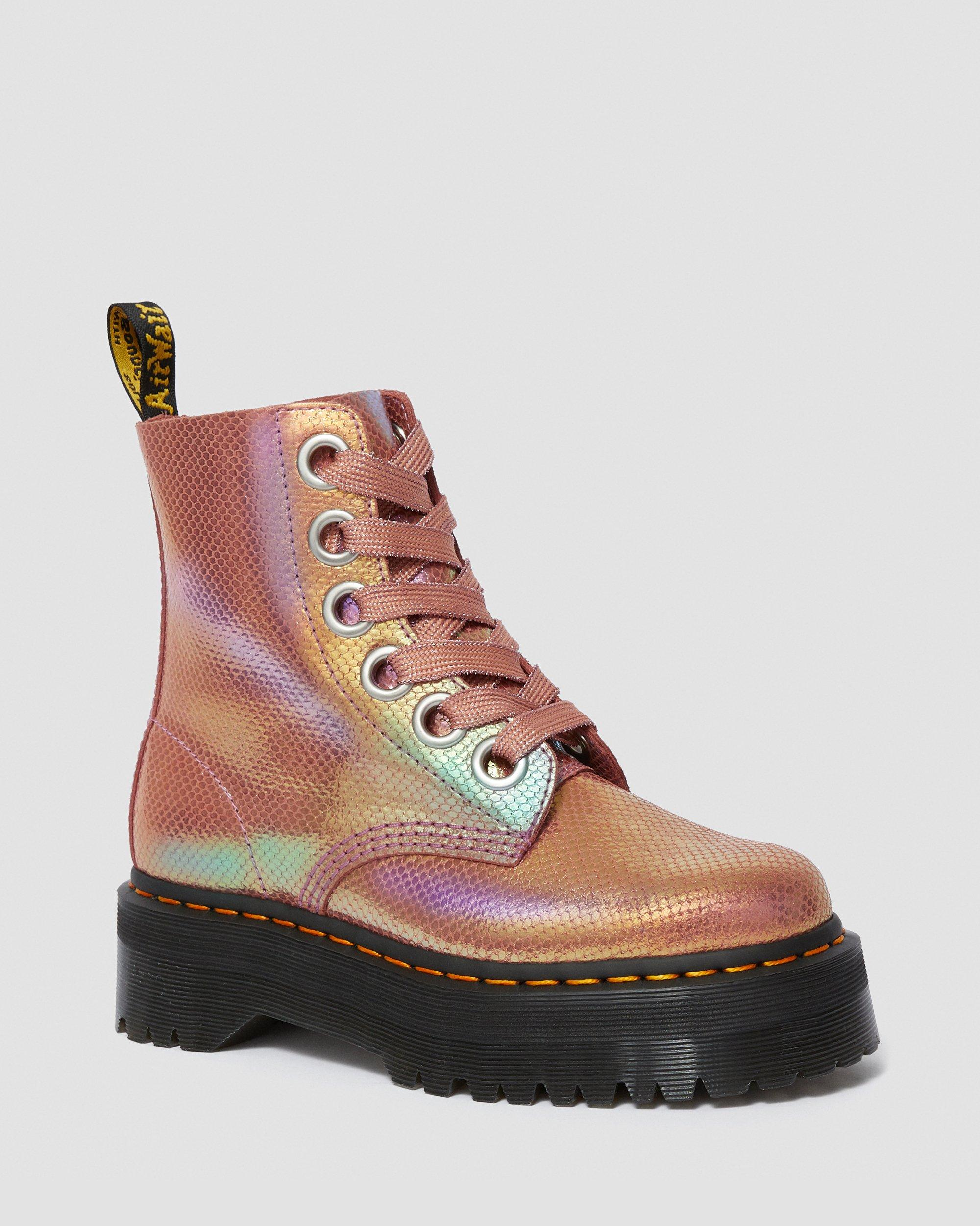 dr martens molly rainbow